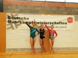 Deutsche Mehrkampfmeisterschaften und Spaß dabei