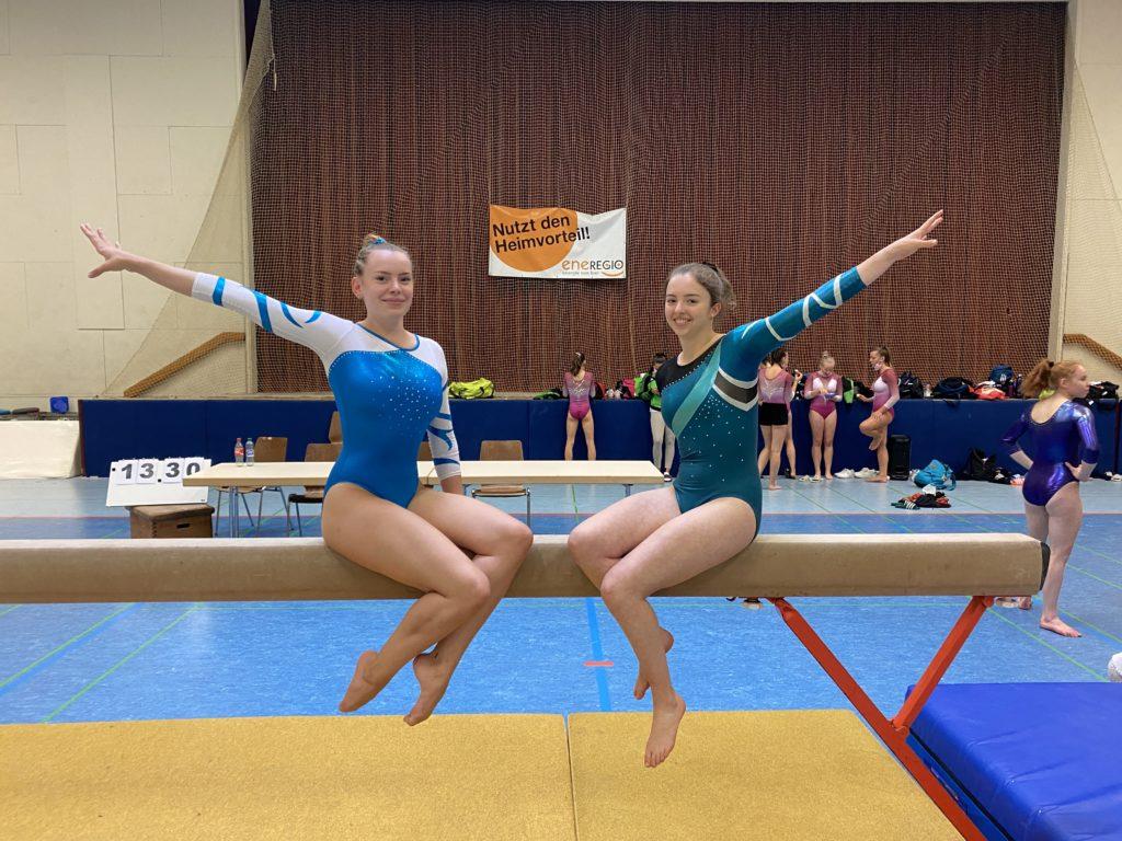 Shari und Sophia beim Baden-Cup